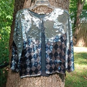 Vintage sequin jacket.
